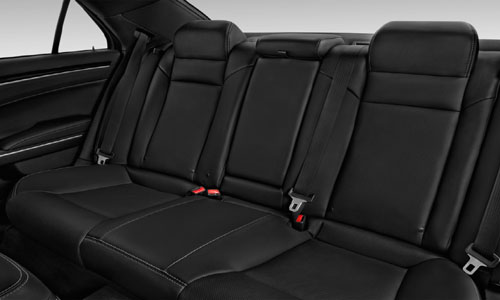 Chrysler 300 rear seats